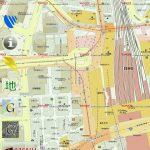 地図ロイドのヤフー地図の地下街