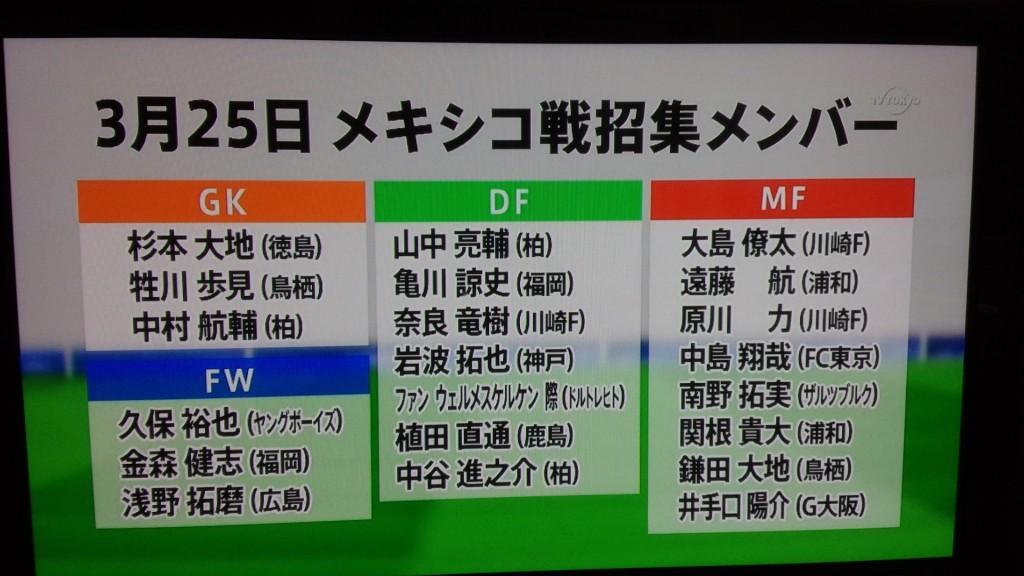 U23日本代表ポルトガル遠征
