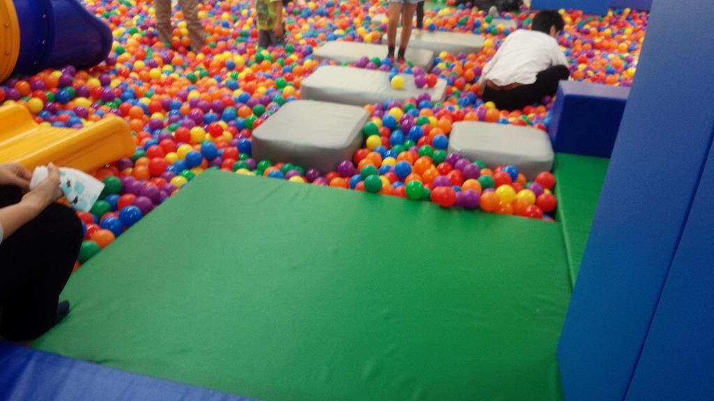 ピュアハートキッズクラブのボールプール