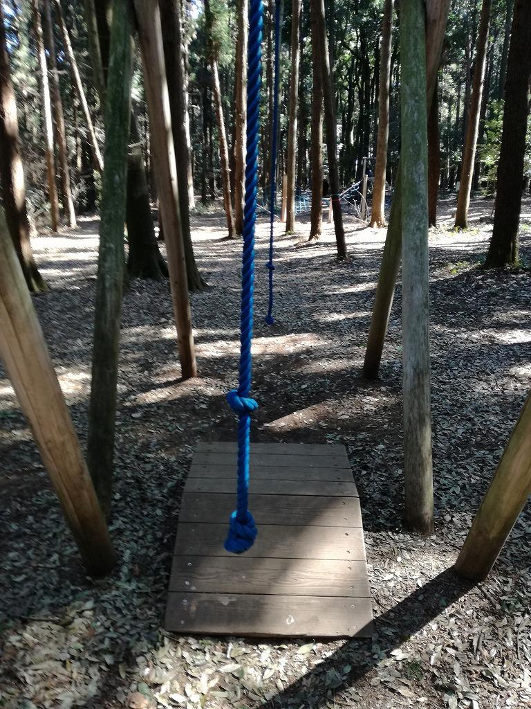 手賀の丘公園の猿のつた渡り