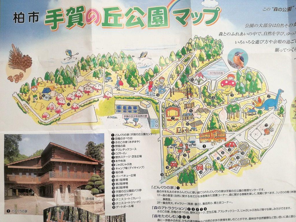 手賀の丘公園は森の中の公園!アスレチックスとキャンプ場と恐竜