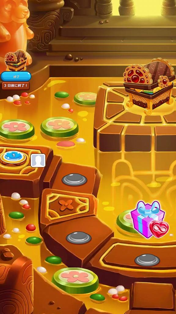 クッキージャムの特別ステージ